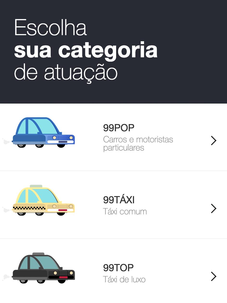 Bonus Para Motorista 99 POP ou Taxi