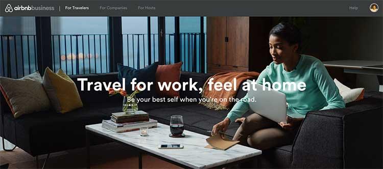 Airbnb Business para quem viaja a negócios