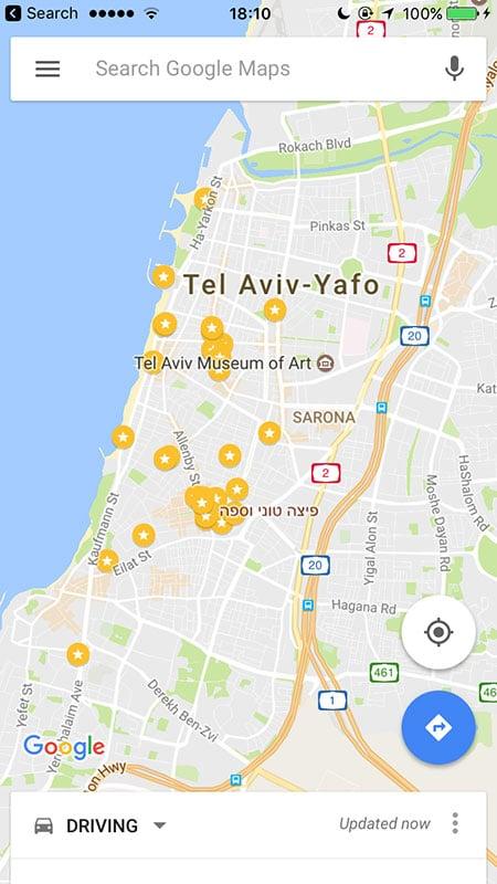 Bairros para se hospedar em Tel Aviv