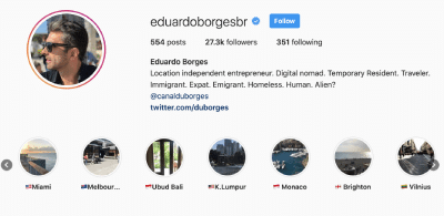 Instagram do eduardoborgesbr
