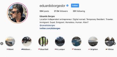 Instagram do eduardoborgesbr