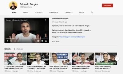 YouTube do EduardoBorgesBR